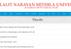 LNMU Darbhanga B.A/B.Sc/B.Com/LLB part 1,2,3 results 2019-20 at www.lnmu.bih.nic.in