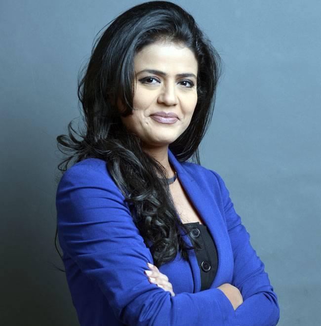 Sweta Singh Aajtak News TV Anchor From Bihar