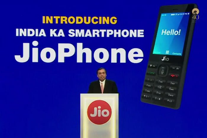 Reliance Jio 4G Phone Launched, Delivery Will Start From Sept 2017