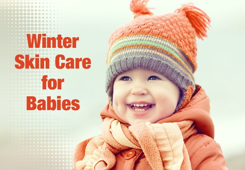 Winter skin care tips for child, newly born babies