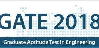 GATE 2018 Exam Dates ME, EC, CS, IT, Admit Card Release Date