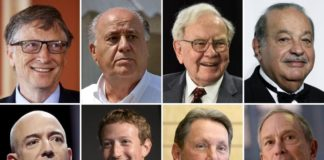 New List of Top 10 Richest People in USA 2018