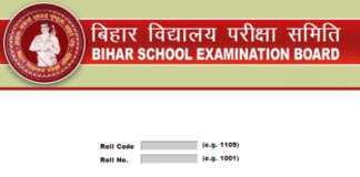 Check Bihar Board MatricClass 10 Result 2018 at www.biharboard.ac.in