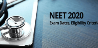 NTA NEET (UG) 2020 examination date extended due to Coronavirus Lockdown