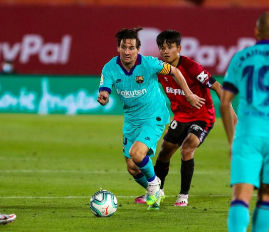 Lionel Messi helps Barcelona to win by 4-0 against Mallorca, Highlights