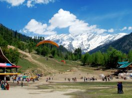 manali new year celebration